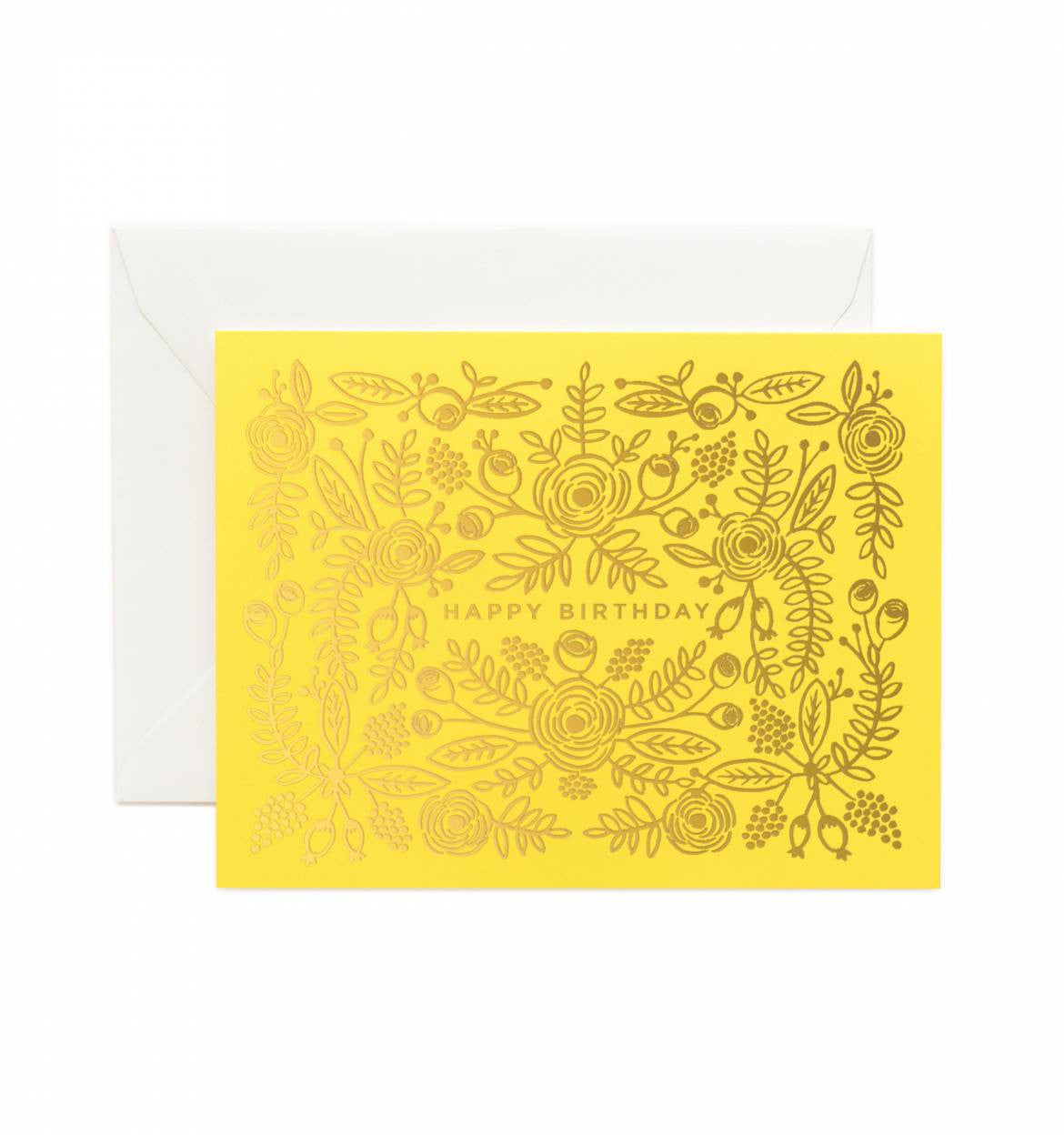 Limoncello Birthday Single Greeting Card