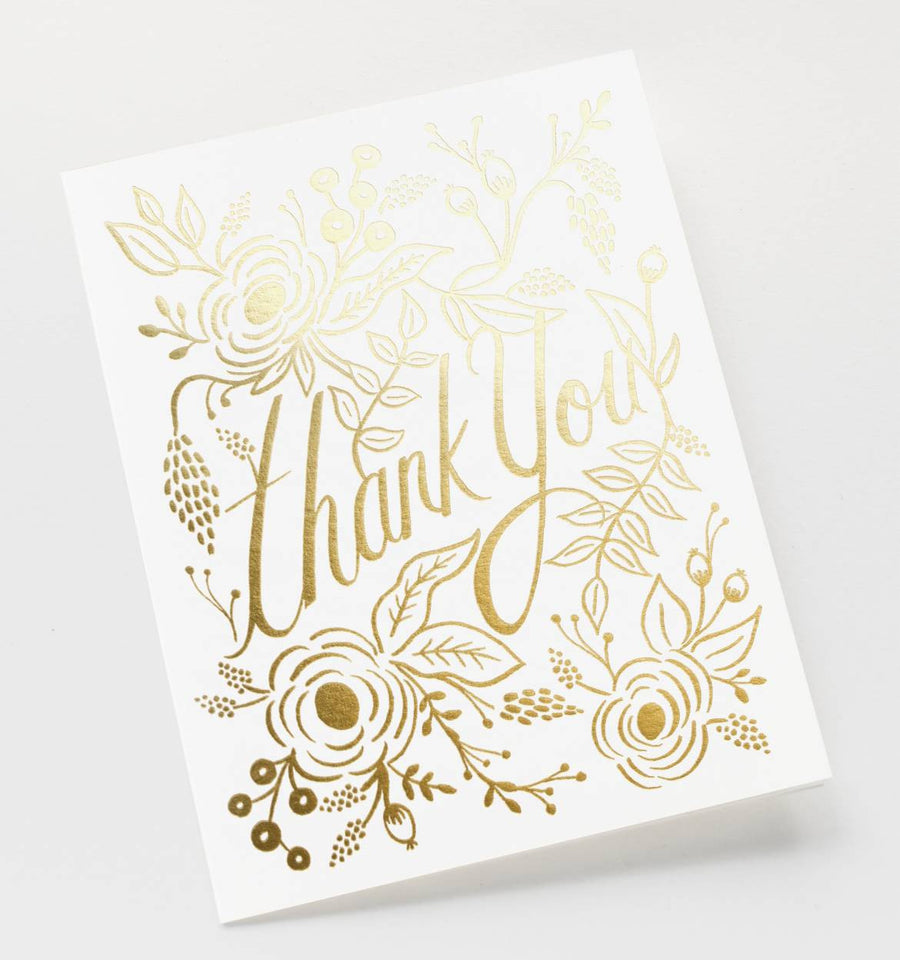 Marion Thank you Single Greeting Card