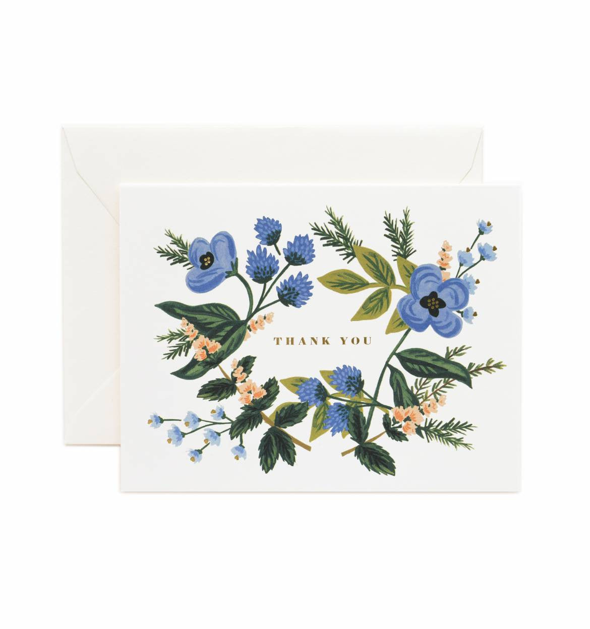 Thank you Bouquet Single Greeting Card
