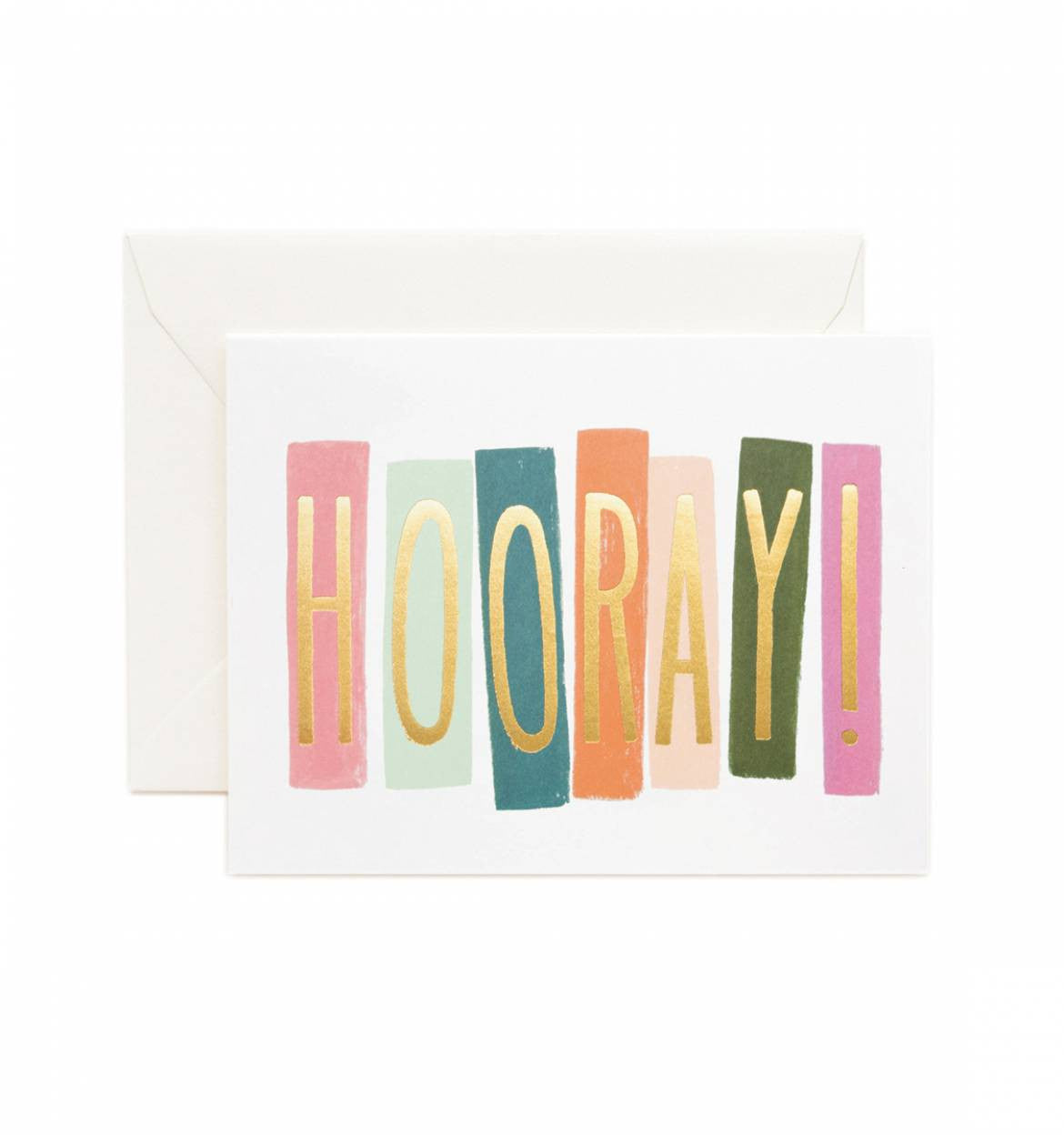 Hooray! Single Greeting Card
