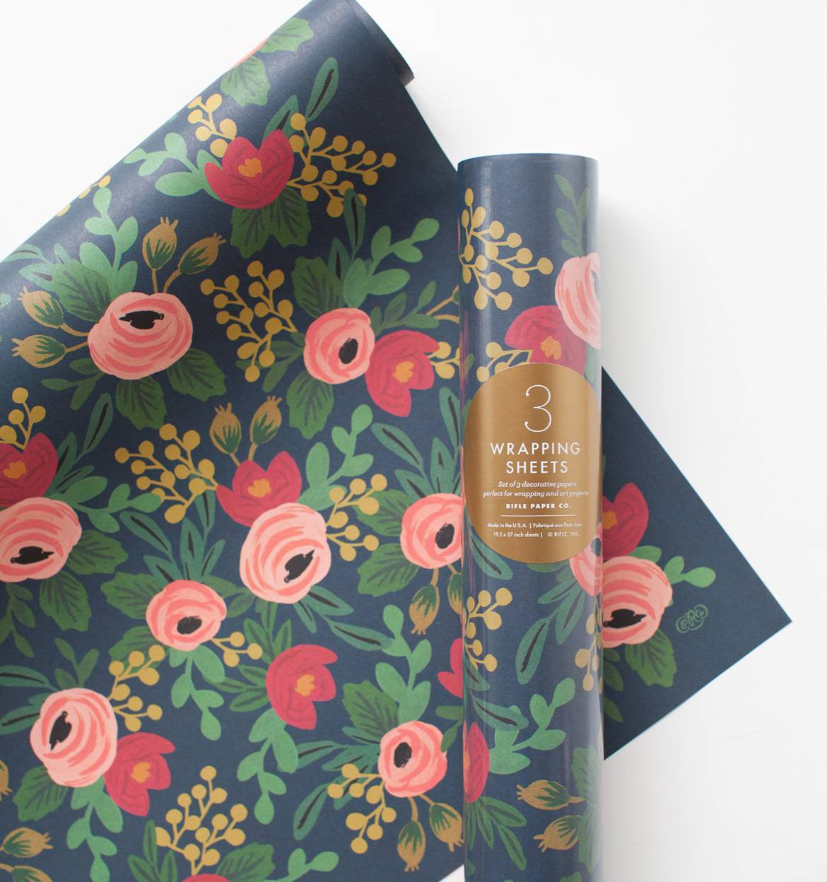 Rosa Wrapping Sheets