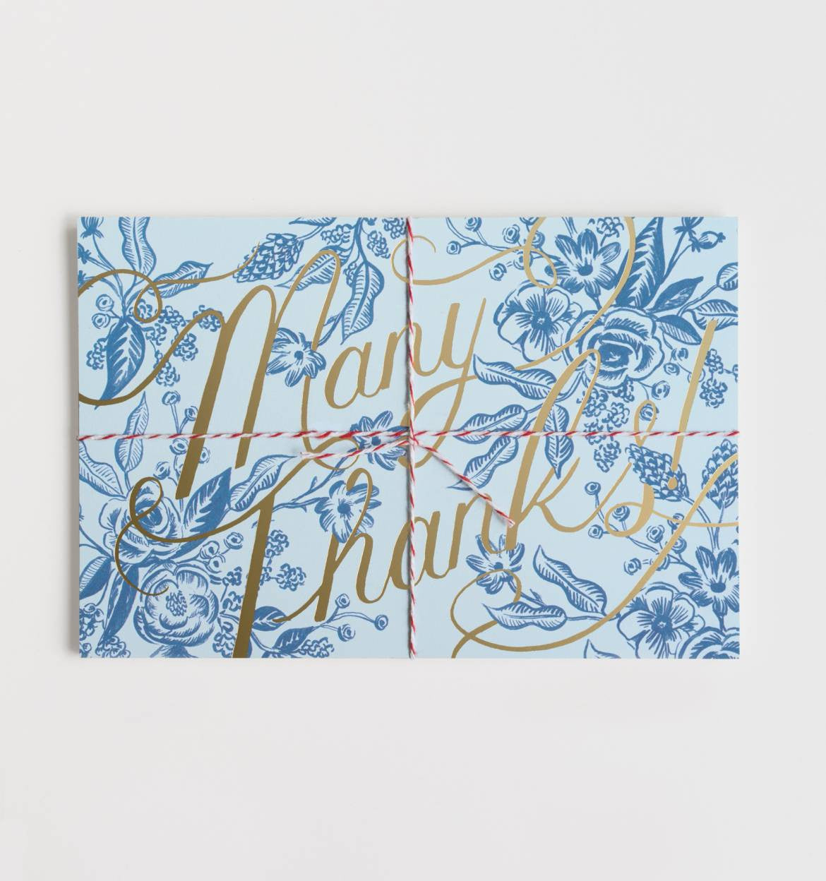 Toile Thank You Postcards