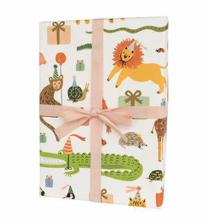 Party Animal Wrapping Sheets