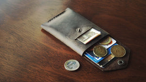 Luava handcrafted leather wallet premium