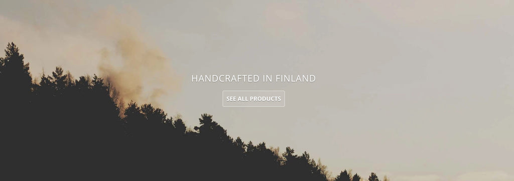 Luava handcrafted leather products from Finland