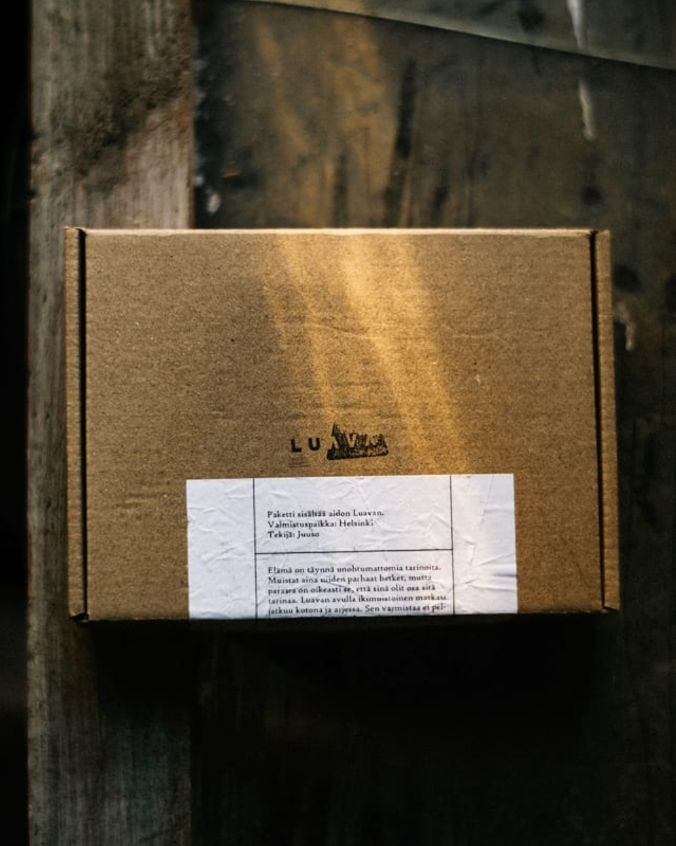 Luava packaging worldwide shipping package
