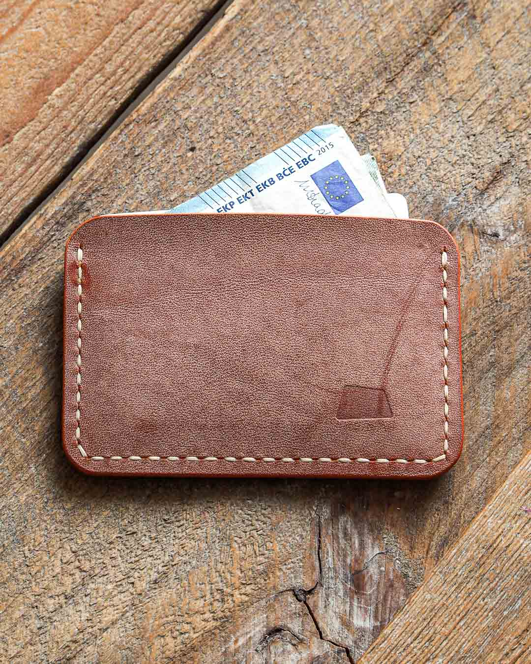 Luava handmade leather wallet handcrafted card holder cardholder made in finland proper ghost whiskey back in use