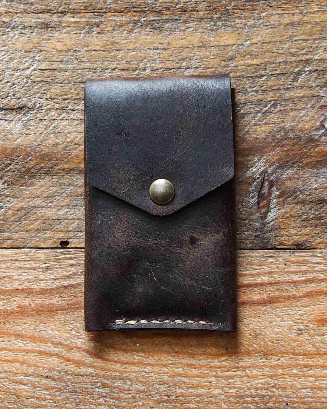 Luava leather wallet premium handmade rustic
