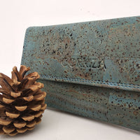 Trifold Purse - Teal