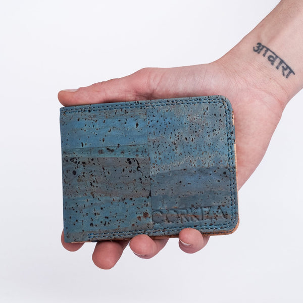 The Mac Billfold wallet - Teal