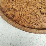 Cork tray - Gold
