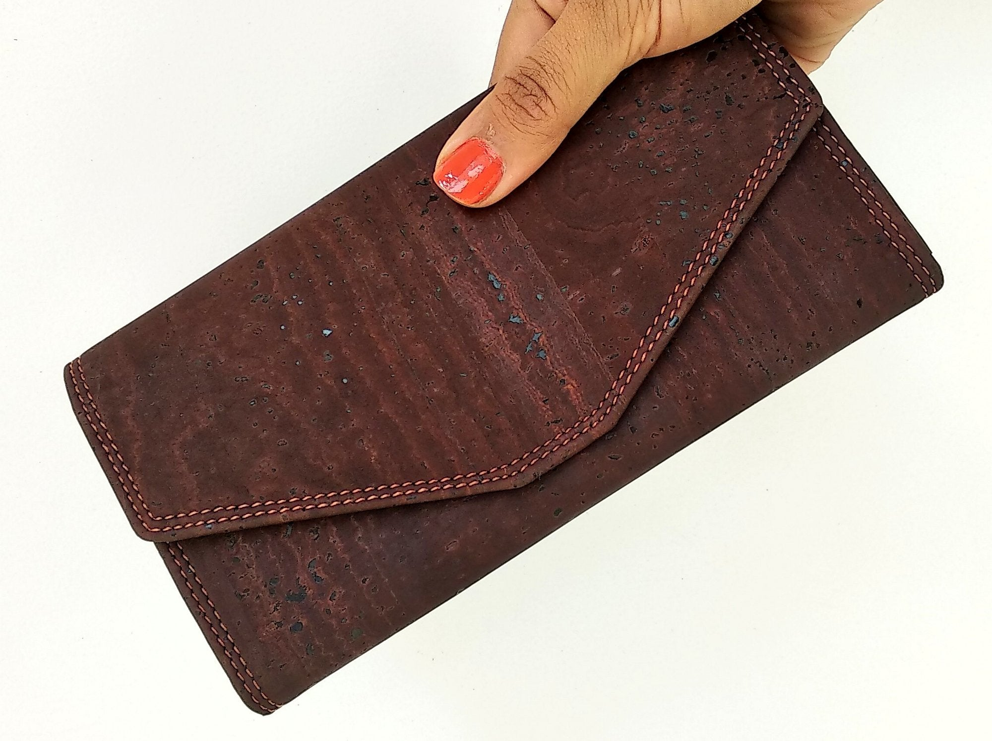 Candor Clutch wallet - Brown