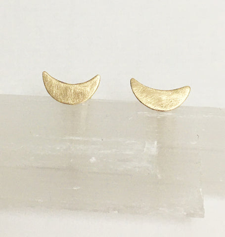 Sahar (Crescent Moons) 9ct gold