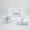 Gift packaging for Maya Ullman's handmade eco, pearl and natural gem jewellery