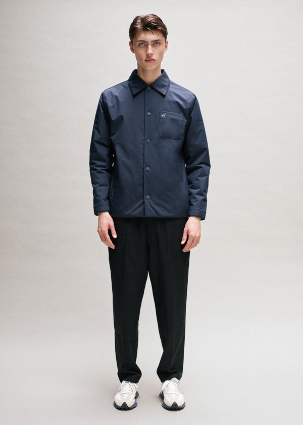 Shirt Jacket Padded Navy SS21