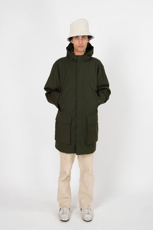 Roomy Terror Weather Parka Ninja Spina Deep Army