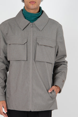 Shirt Jacket Mini Check