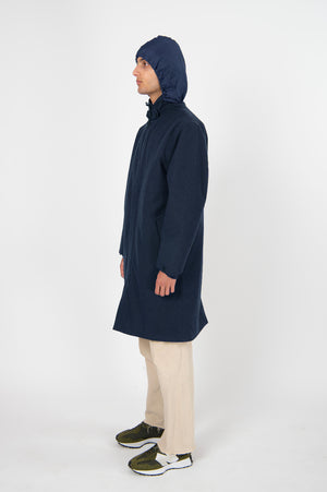 Long Dong Tech Wool Navy