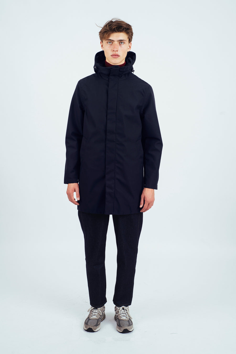 Terror Weather Parka Spoiler Navy with inner - Welter Shelter - Waterproof, Windproof, breathable Packable