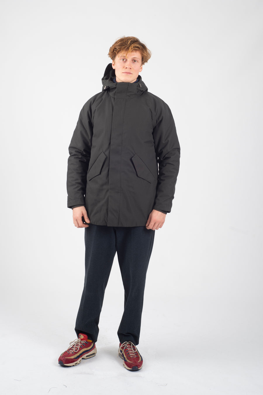Marinero Parka Spoiler Army - Welter Shelter - Waterproof, Windproof, breathable Packable