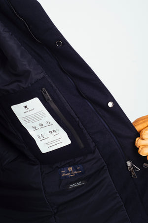 Techno Joe Techwool Navy - Welter Shelter - Waterproof, Windproof, breathable Packable