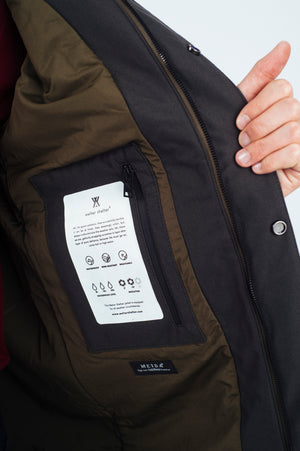 Terror Weather Parka Spoiler army - Welter Shelter - Waterproof, Windproof, breathable Packable