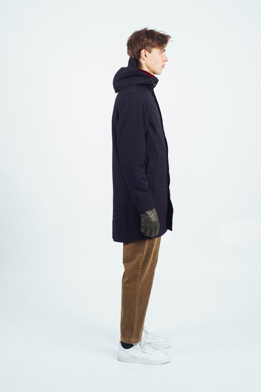 Terror Weather Parka Poly/ Rayon Navy
