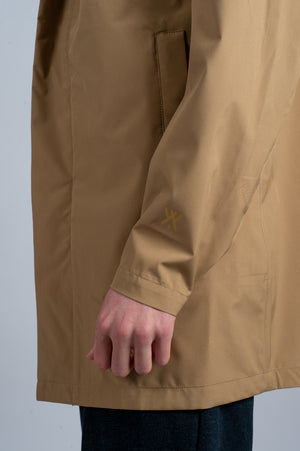 Shirt Jacket Khaki - Welter Shelter - Waterproof, Windproof, breathable Packable