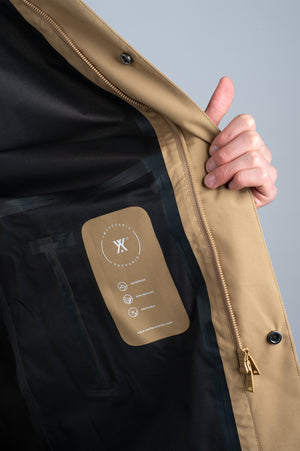 Long  Dong Khaki UNISEX - Welter Shelter - Waterproof, Windproof, breathable Packable