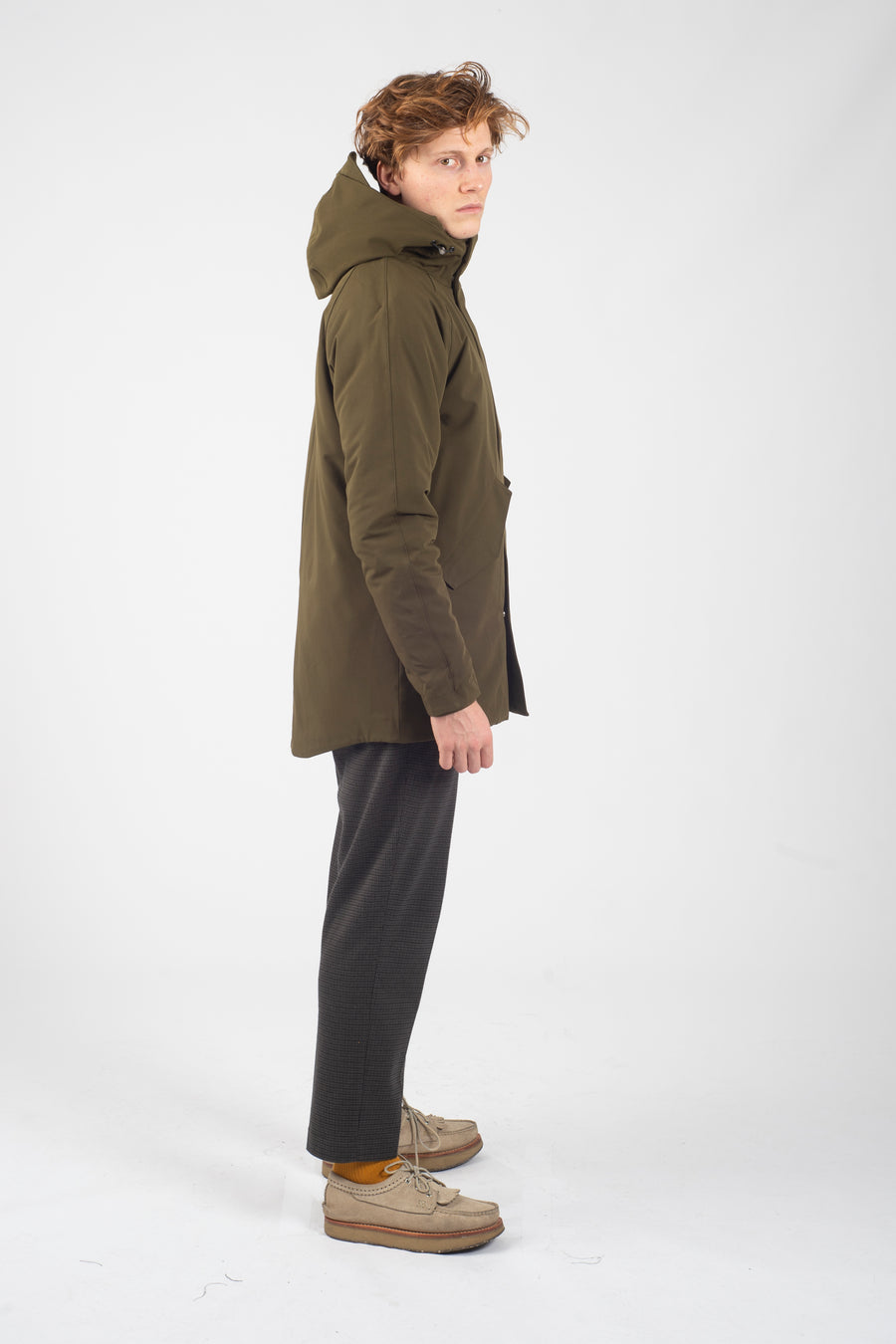 Marinero Parka Berlingo Army - Welter Shelter - Waterproof, Windproof, breathable Packable