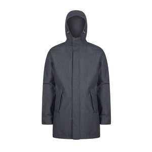 Marinero Parka poly-rayon grey woollook