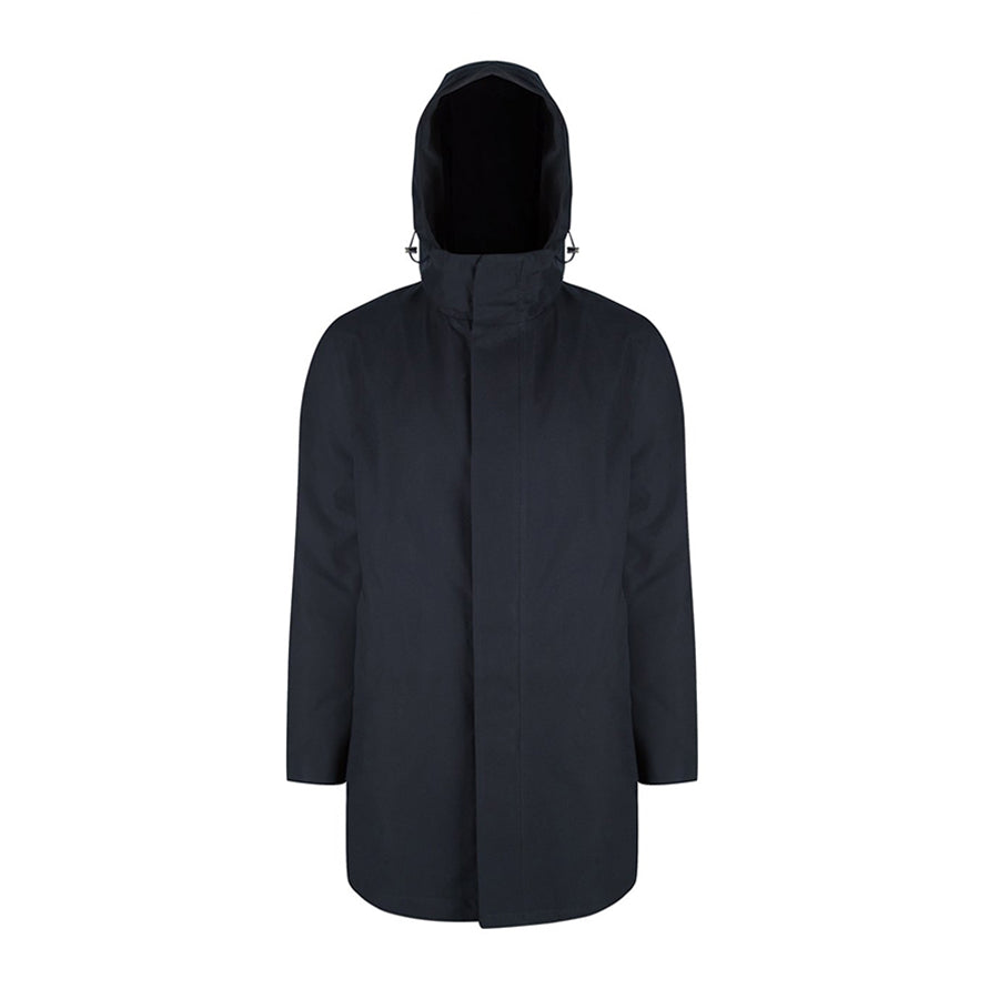 Terror Weather Parka Spoiler navy with INNER  AW18 - Welter Shelter - Waterproof, Windproof, breathable Packable