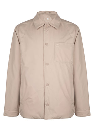 Shirt Jacket Padded Stone SS21
