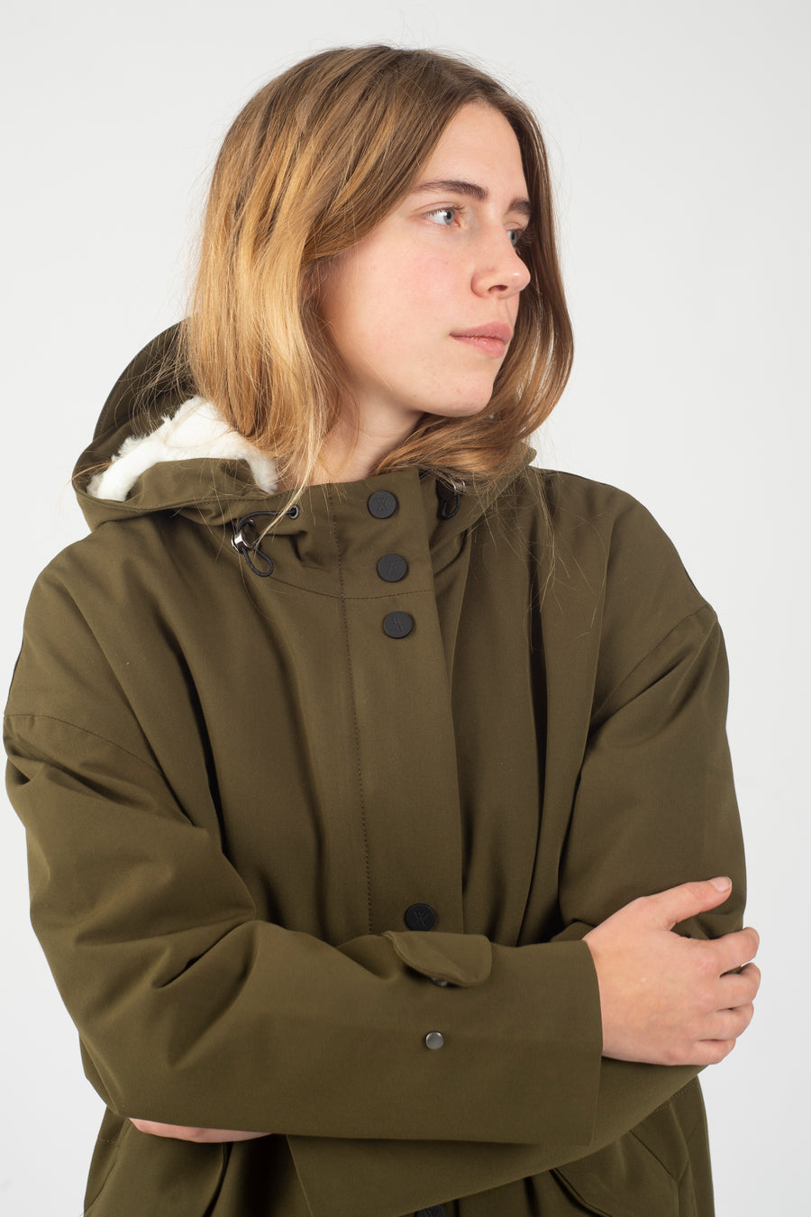 Sherpa Parka Berlingo Army - Welter Shelter - Waterproof, Windproof, breathable Packable