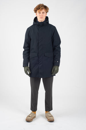 Techno Joe Spoiler Navy - Welter Shelter - Waterproof, Windproof, breathable Packable