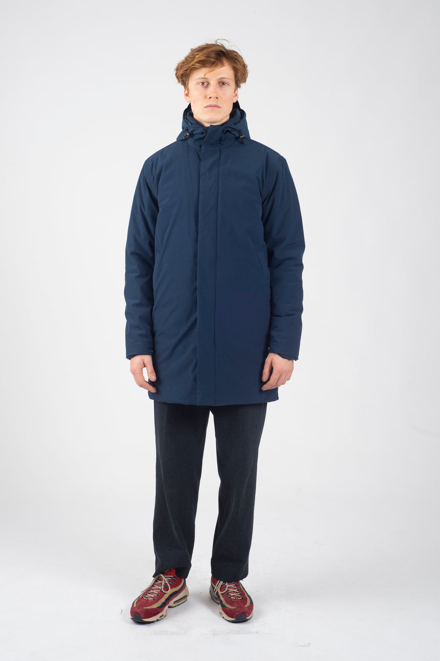 Terror Weather Parka IM DOWN Blue