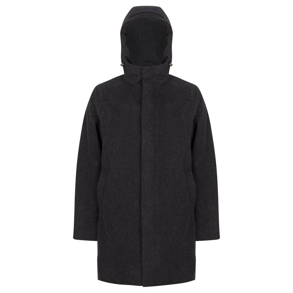 Terror Weather Parka Storm Wool Grey AW18 - Welter Shelter - Waterproof, Windproof, breathable Packable
