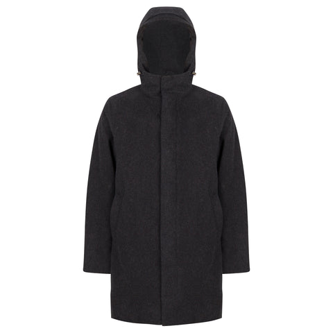 LIZARD BLIZZARD PARKA BLACK