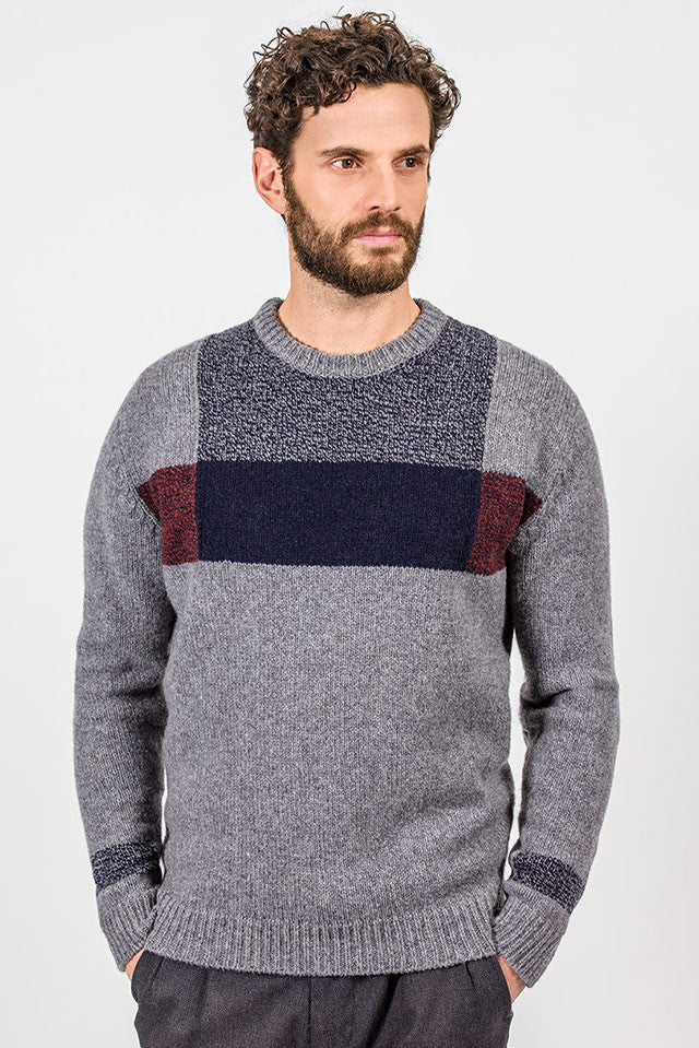 Fisherman Out of Ireland Men's Crew Neck Sweater