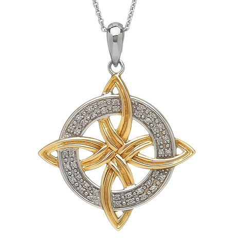House of Lor - Celtic Knot with Circular Diamond Front