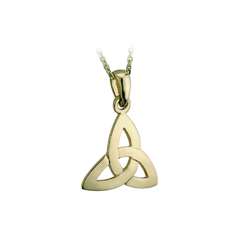 Trinity Knot Pendant - Yellow Gold