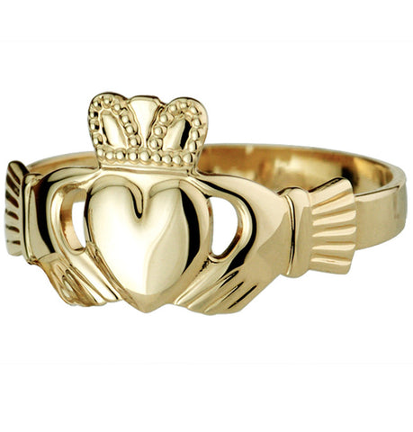Claddagh Ring - Yellow Gold