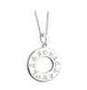 Sterling Silver History of Ireland - Pendant Details
