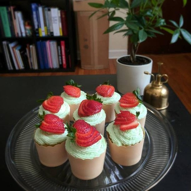 Basil Whipped Cream Frosting Recipe