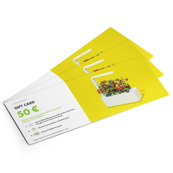 Click & Grow Gift Card