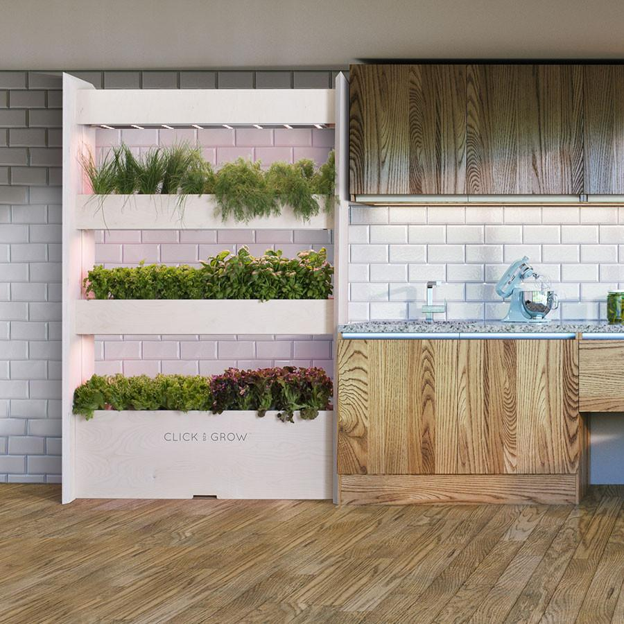 The Wall Farm Indoor Vertical Garden