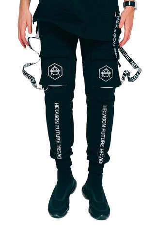 Hexagon Cargo Pants