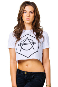 Hexagon Ladies Croptop