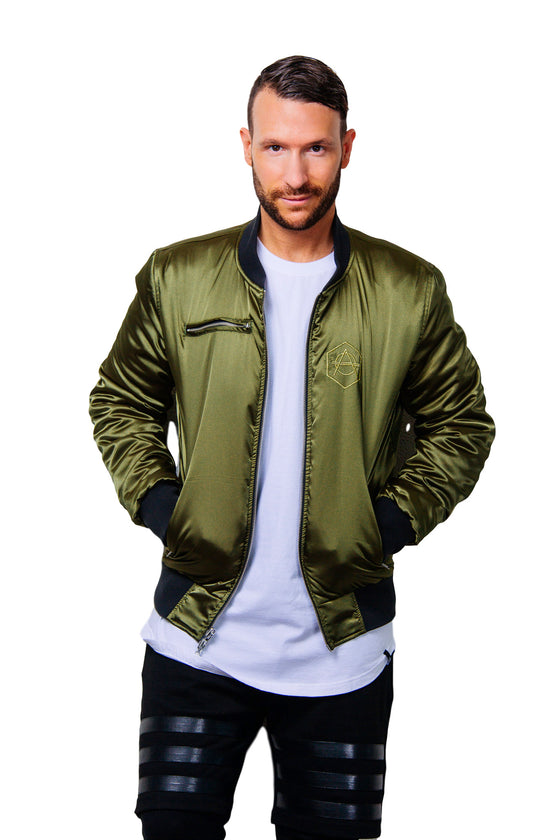 Green reversible Jacket