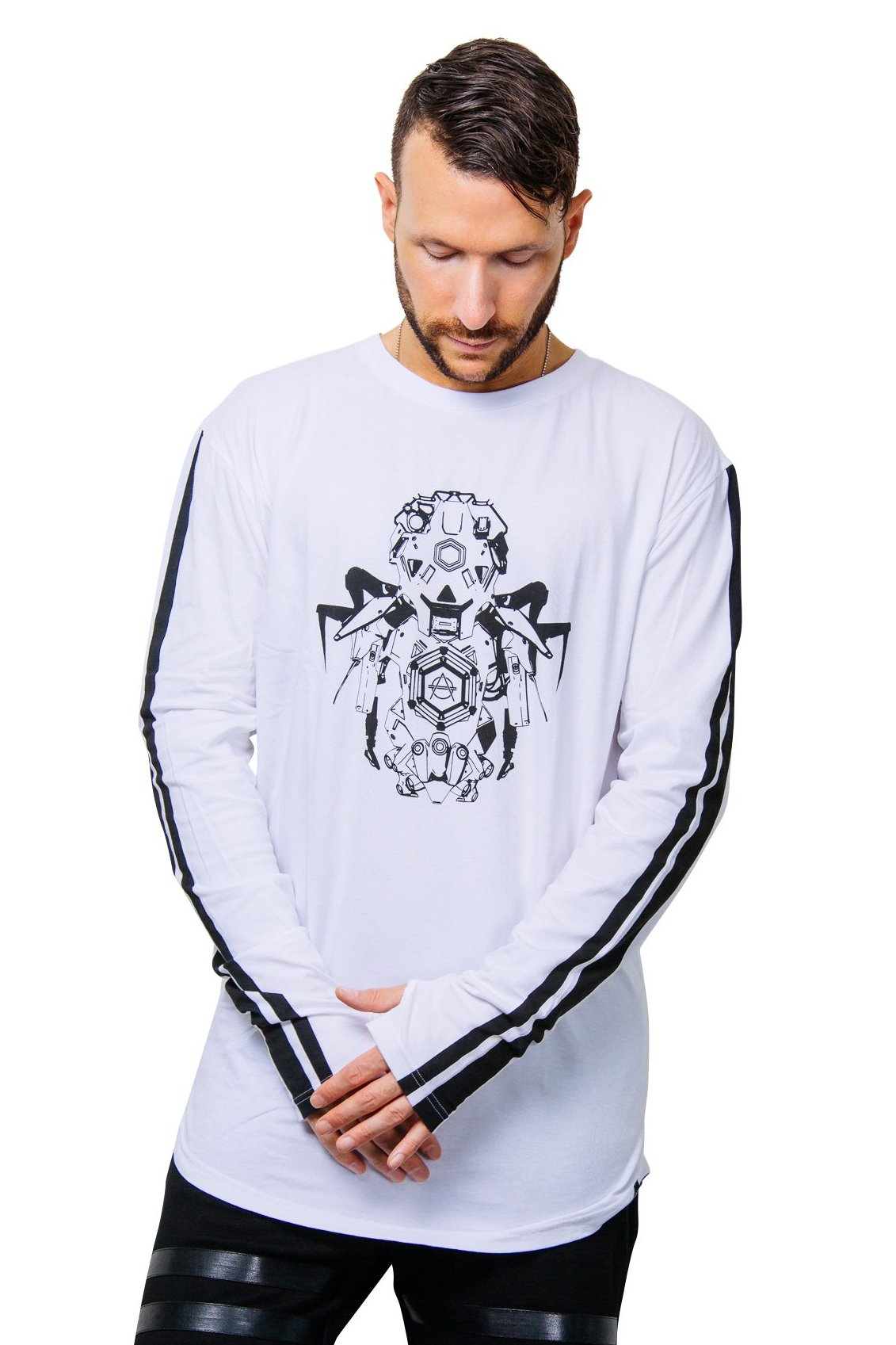 Hexagon Don Diablo robot tee